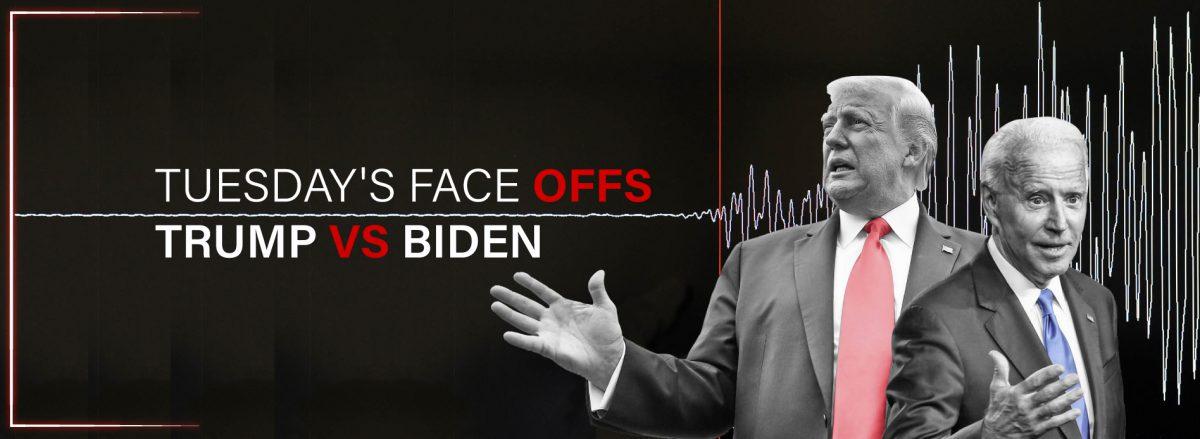 Face Off Trump VS Biden (Election Header)